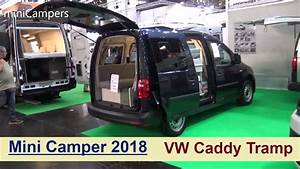 Vw Caddy Alltrack Camper : minicamper vw caddy tramp 2018 youtube ~ Jslefanu.com Haus und Dekorationen