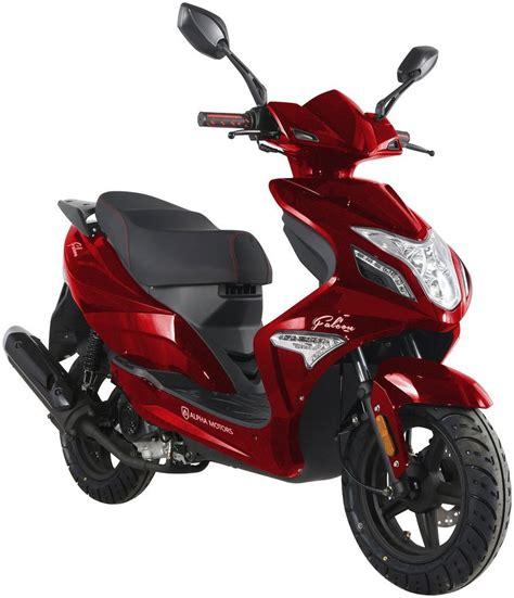 alpha motors motorroller falcon  ccm  kmh