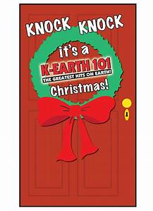 KRTH Plays 'Knock ... Knock, It's A K-Earth Christmas ...