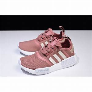 Light Pink Yeezys Wmns Adidas Nmd R1 Raw Pink Rose Salmon Peach Shoes S76006