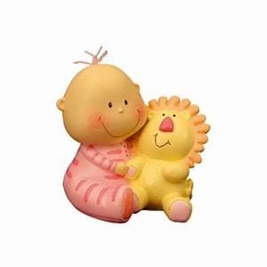 Peluche Bebe Fille : figurine fille avec peluche lion ~ Teatrodelosmanantiales.com Idées de Décoration
