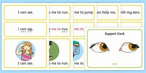 All About Me Simple Sentence Cards  Teacher Made