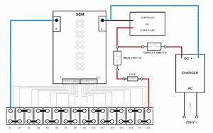 Lithium  U0026 Solar Power Lifepo4  Sbm Connection Diagram The