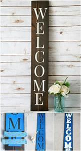 rustic charm home decor 15 diy wood sign ideas