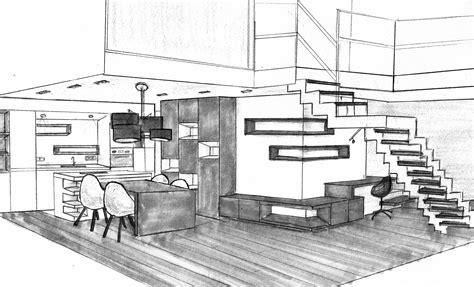 Dessin D Interieur De Maison Dessin Architecture Interieur Vd85 Montrealeast