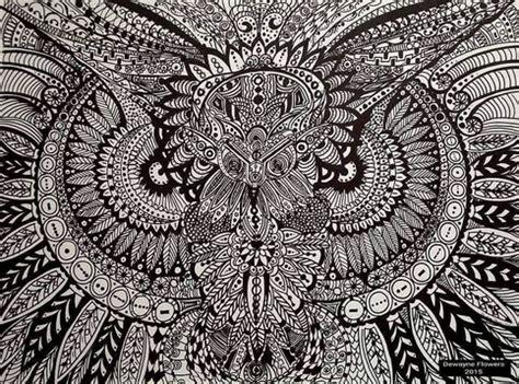 owl mandala print  storenvy