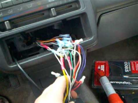 wire  tachometer   civic youtube