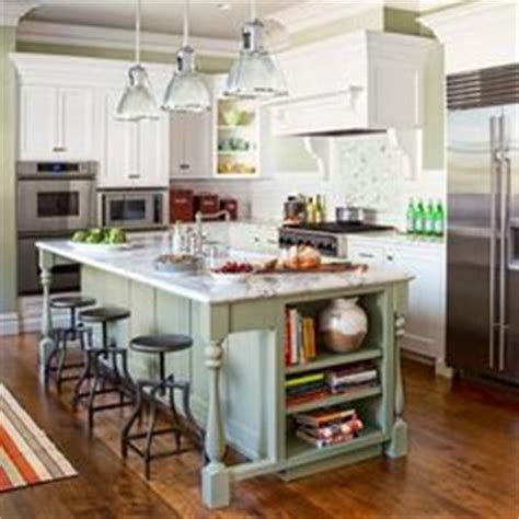kitchen islands that look like furniture narrow island with seating at one end if the end was 9464