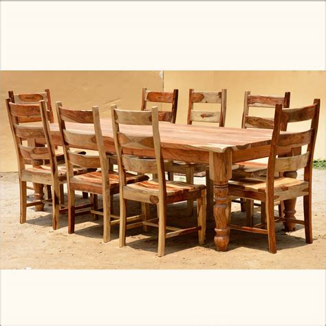 furniture durable solid wood dining room set