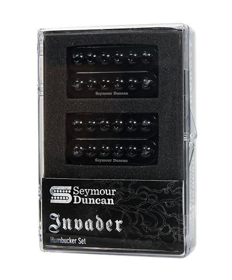 duncan sh 8 invader humbucker set bk free lp page reverb