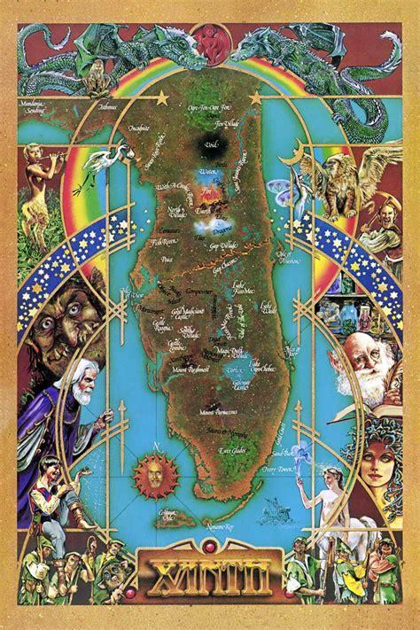 xanth poster map inane minutiae