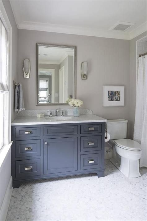 bathroom wall paint color is farrow ball cornforth