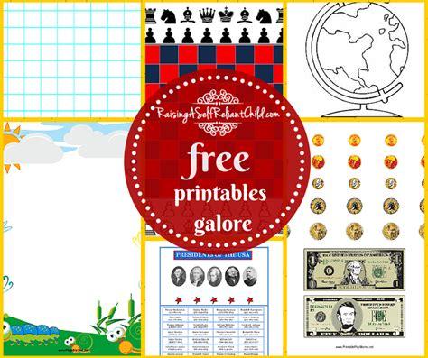 12 free printables websites homeschooling resources