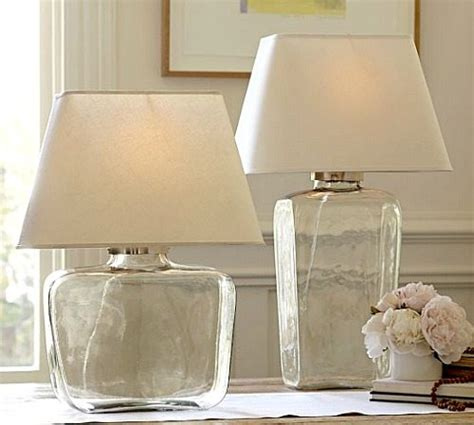 fillable glass table l pottery barn the ls for bliss living