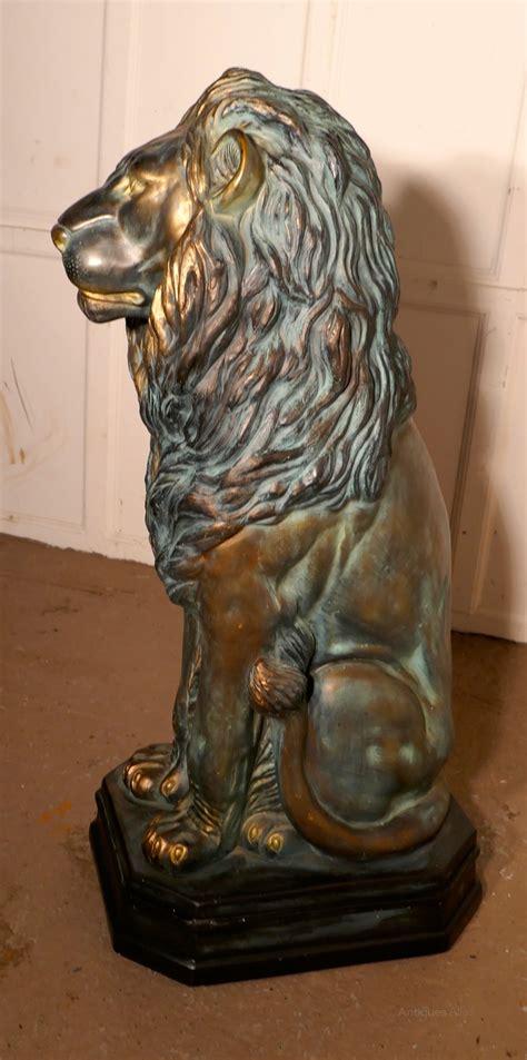 Antiques Atlas - Large Lion Statue