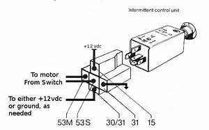 intermittent wiper relay diagram intermittent get free With diagram on wiper motor wiring diagram furthermore vw flasher relay