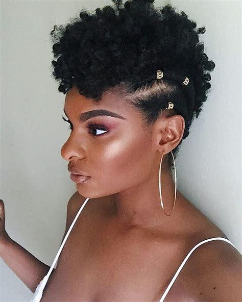 fabulous natural hairstyles  short natural hairstyles   images short