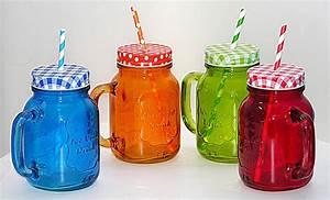 Becher Mit Deckel Und Strohhalm : 4 extragro e bunte becher mit strohhalm deckel trinkglas farbig cocktail gl ser ebay ~ Watch28wear.com Haus und Dekorationen