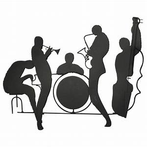 """Curtis Jere """"Jazz Band"""" Silhouette Sculpture at 1stdibs"""