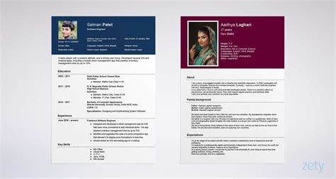 How To Prepare A Biodata by Hindu Marriage Biodata Format Free