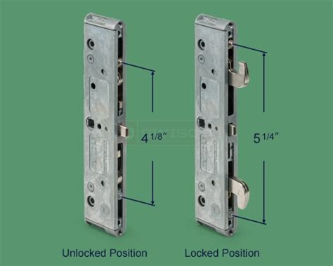 82-238 Double Hook Mortise Lock