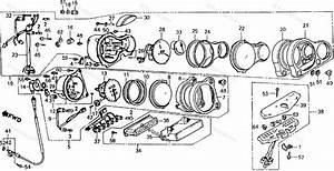 Honda Motorcycle 1986 Oem Parts Diagram For Speedometer