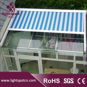 glass balcony systemmotorized roof top canopy  pergola roof awningglass sliding pergola