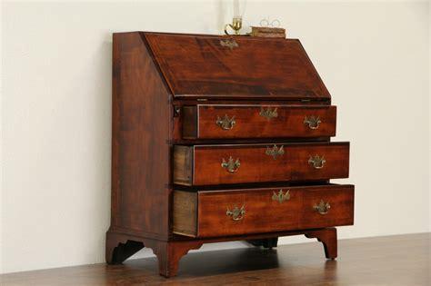 antique secretary desk 1800s sold georgian 1800 antique maple new england secretary