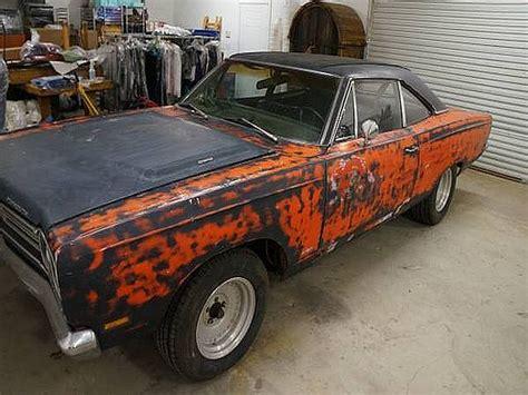 1969 Road Runner Post Car on Craigslist   Mopar Blog