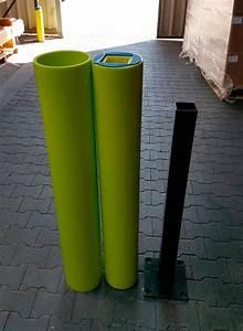 Rammschutz Aus Kunststoff : rammschutz poller castra aus kunststoff farbe lime h he 600 mm ~ Sanjose-hotels-ca.com Haus und Dekorationen