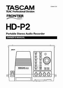 Hd-p2 Manuals