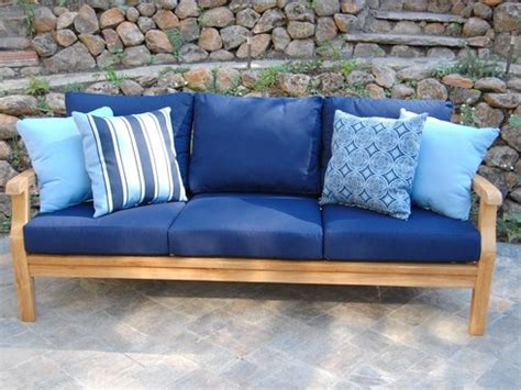 sonoma deep seating sofa sunbrella cushions