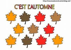 Feuilles D Automne à Imprimer : gommettes automne ~ Nature-et-papiers.com Idées de Décoration