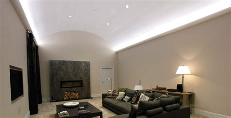 Led Lights For Living Room Next by Residence Curved Ceiling Lighting Collingwood
