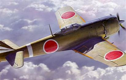 Ki Nakajima Ww2 Japanese Painting Fighter Hayate