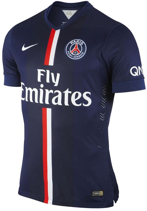 Footy News: Paris 2014-2015 Home, Away and Third Kit