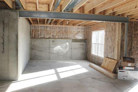 weekend project basement workshop   nest