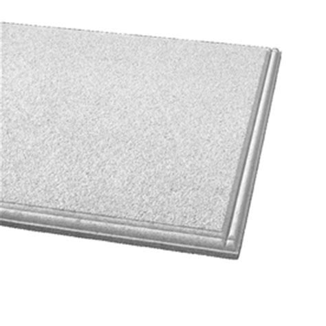 Tegular Ceiling Tile Profile by Shop Armstrong 24 Quot X 24 Quot Cirrus Profiles Beaded Tegular