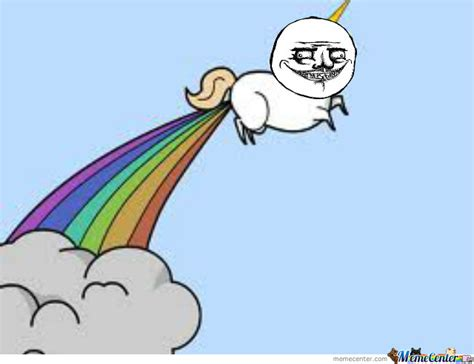 Unicorn Rainbow Meme - unicorn farting rainbows by kittycookie5437 meme center