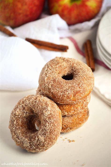 apple cider donuts   fork food blog