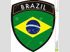 Brazil flag stock vector Illustration of south, sport