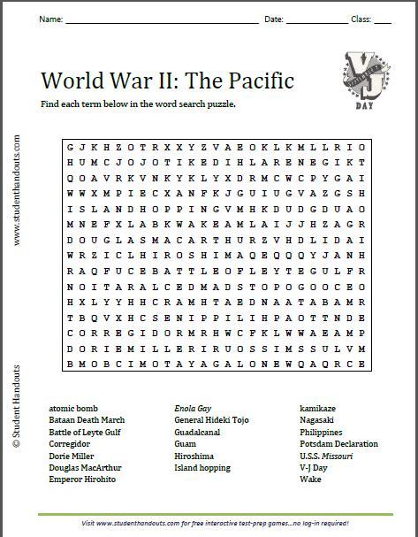 pleasant history worksheets on world war 1 in world war ii