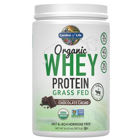 Amazon.com: Garden of Life Protein Powder - Organic Whey