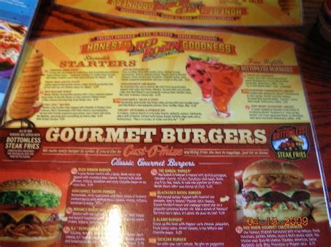 Red Robin Gourmet Burgers, Fort Myers - Menu, Prices ...
