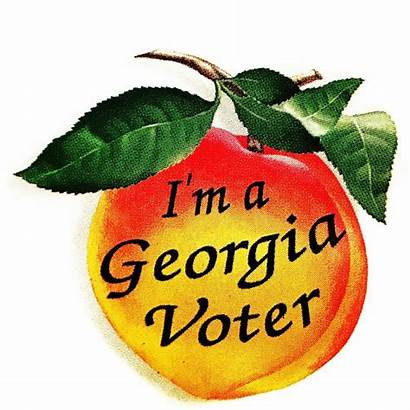 Georgia Voter Voting Runoff Person Wrwh