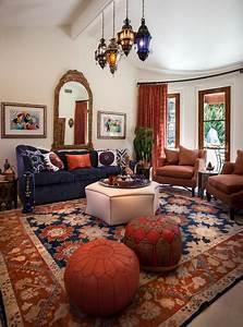 Moroccan Cabana - Mediterranean - Living Room - Los