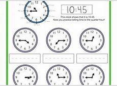 3Rd Grade Telling Time Worksheets Worksheets for all