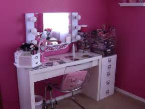 Inexpensive Makeup Vanity by New Makeup Room Tour Youtube