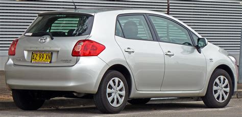 toyota yaris e 2007 at file 2007 2009 toyota corolla zre152r ascent 5 door