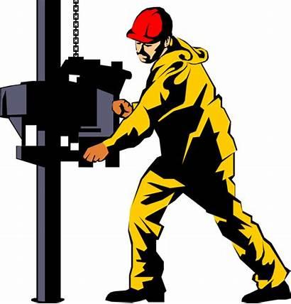 Oil Rig Clipart Worker Platform Vector Transparent